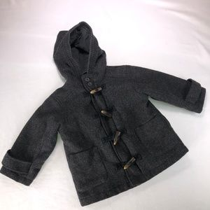 Childrens Place Limited EDT Gray Toggle Coat